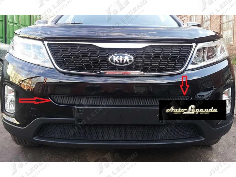 zachita_radiatora_kia_sorento_black